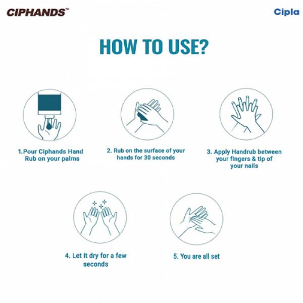 Ciphands Hand Sanitizer, 500ml