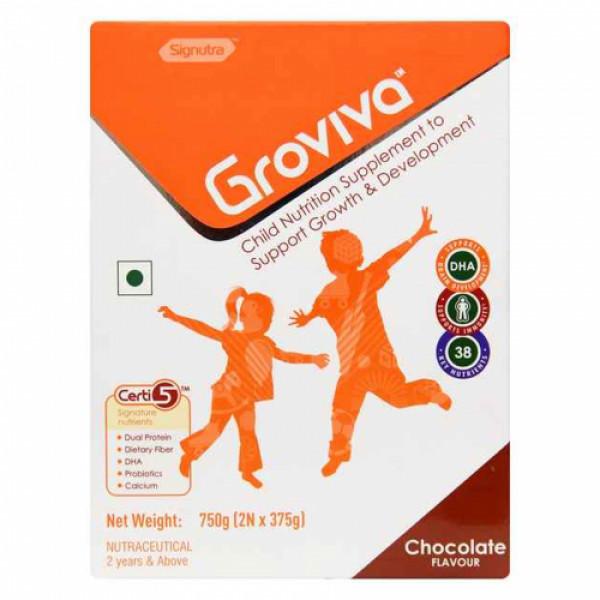 Groviva Child Nutrition Supplement Chocolate, 750gm