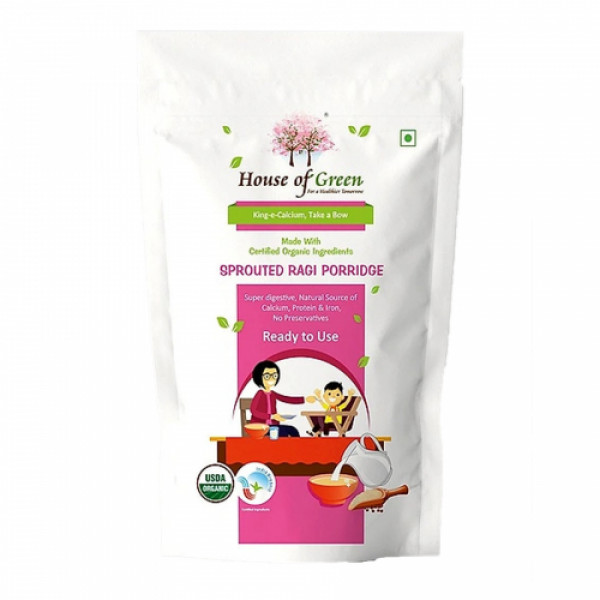 House of Green Sprouted Ragi porridge, 200gm