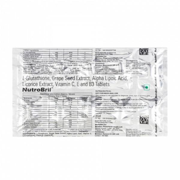 Nutrobril, 10 Tablets