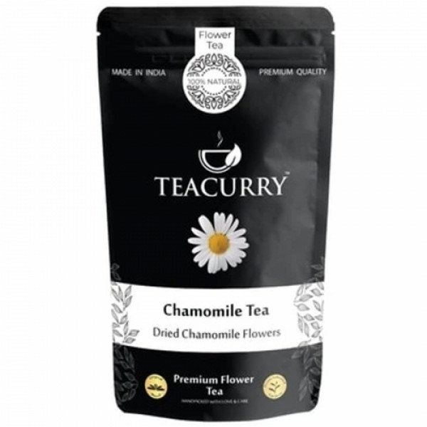Teacurry Chamomile Pure Tea, 60 Tea Bags