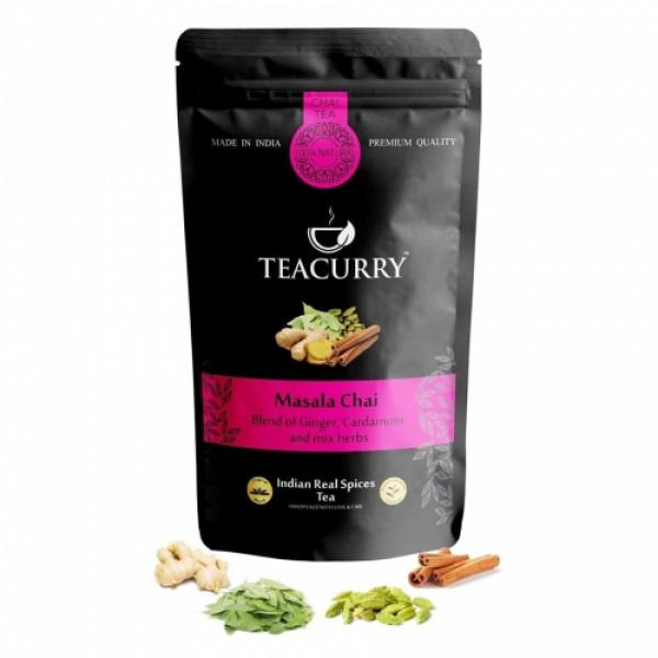 Teacurry Masala Chai Tea, 30 Tea Bags
