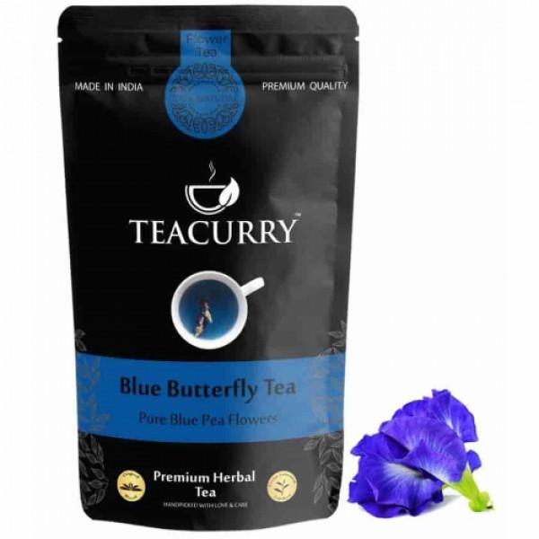 Teacurry Blue Butterfly Tea, 30 Tea Bags