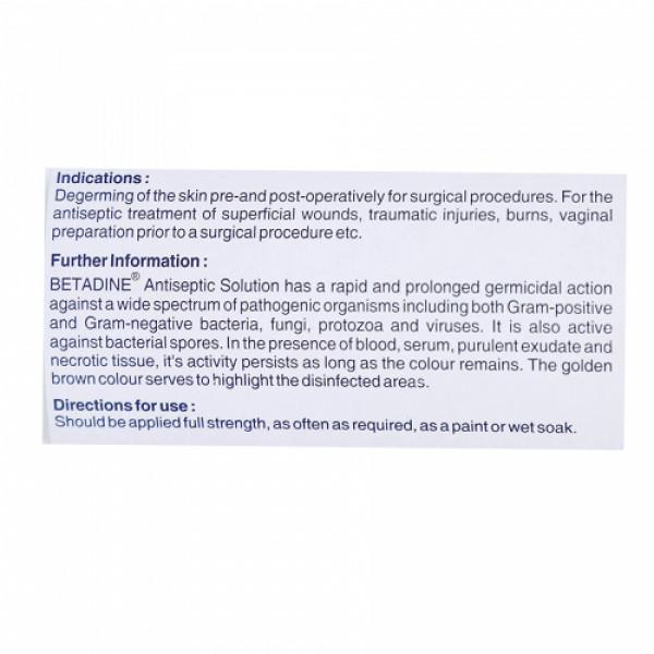 Betadine Standardised Microbicidal 5% Solution, 500ml