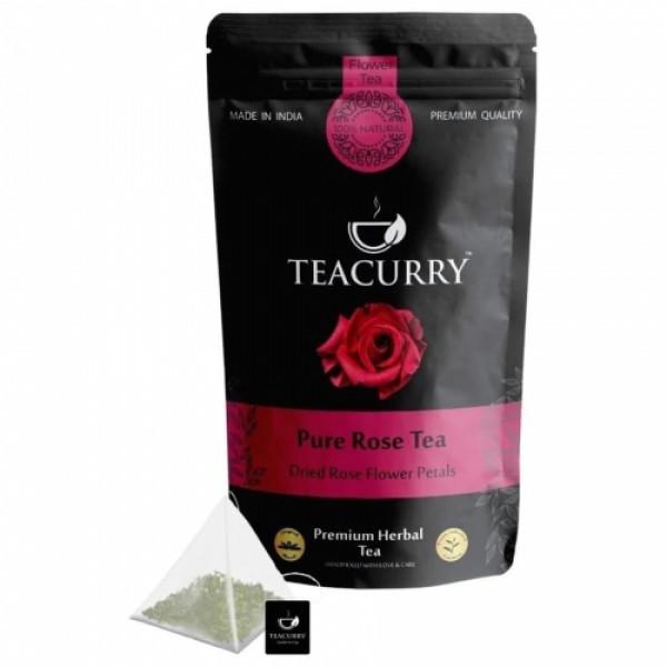 Teacurry Rose Petal Tea, 100gm