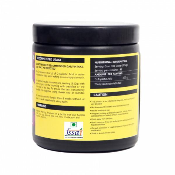 Healthvit  Fitness Unflavored D-ASPARTIC ACID Powder, 300gm