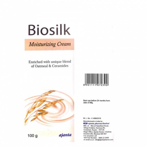 Biosilk Moisturizing Cream, 100gm