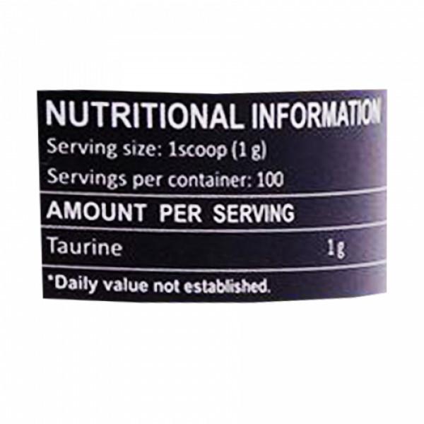 Healthvit Fitness Taurine Powder, 100gm