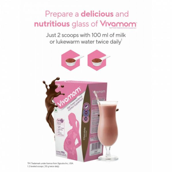 Vivamom Maternal Nutrition Supplement Chocolate, 400gm