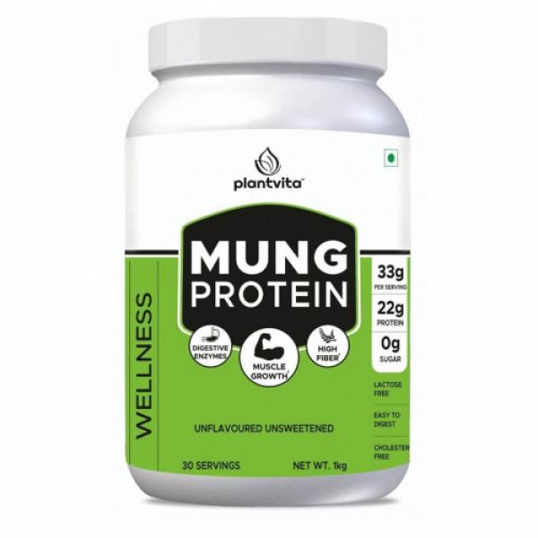 PlantVita Mung Protein For Wellness & Strength, 1kg