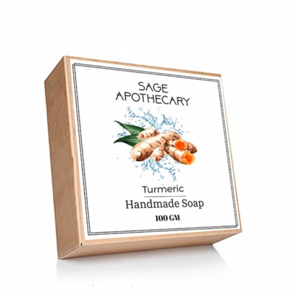 Sage Apothecary Turmeric Soap, 100gm