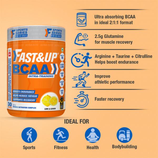 Fast&Up BCAA - Lime & Lemon, 450gm