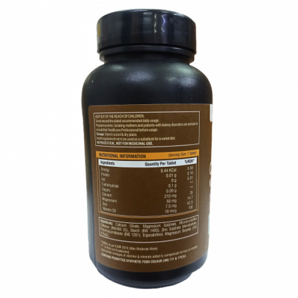 Pure Nutrition Calcium Vitamin D, 60 Tablets