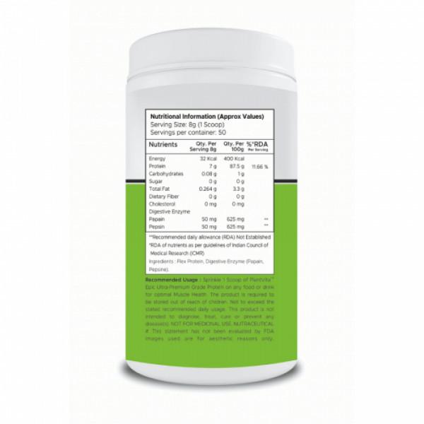 PlantVita Epic Protein Sprinkler For Wellness & Strength, 400gm