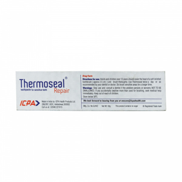 Thermoseal Repair Toothpaste, 50gm