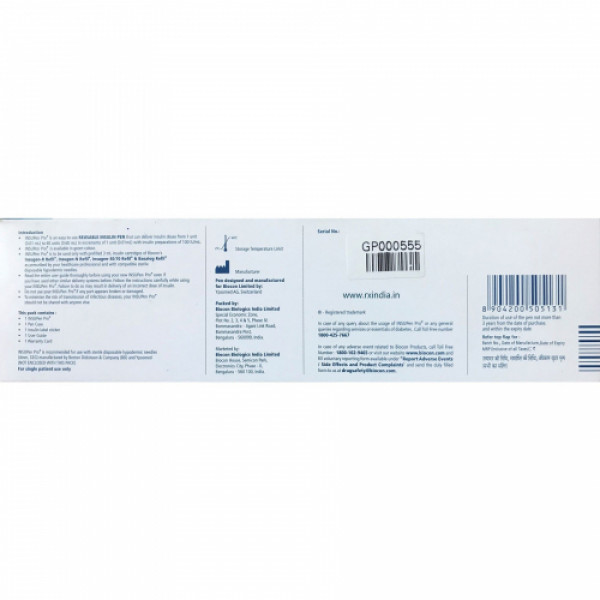Biocon InsuPen Pro Reusable Insulin Pen