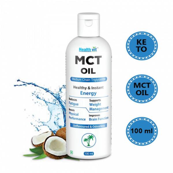 Healthvit MCT Oil, 100ml