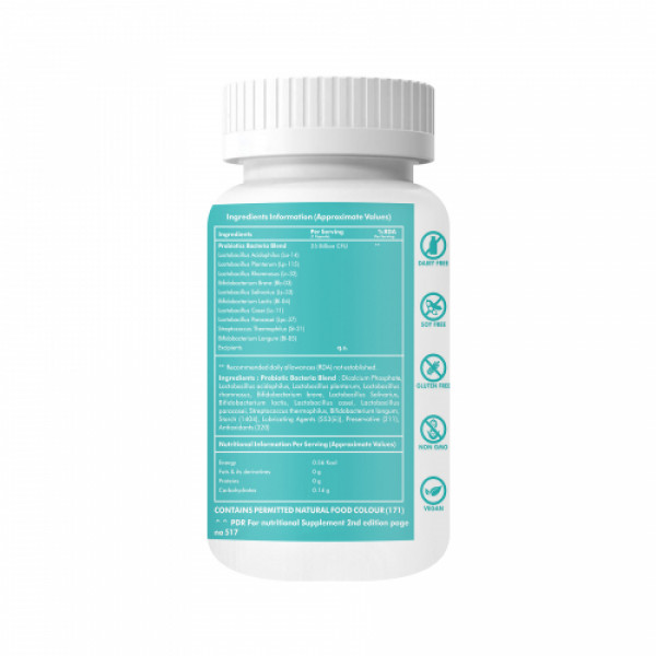 Ontodot Gut Health Probiotic Supplement, 60 Capsules