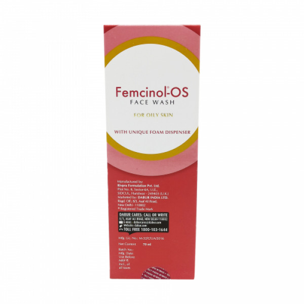 Femcinol OS Face Wash, 70ml