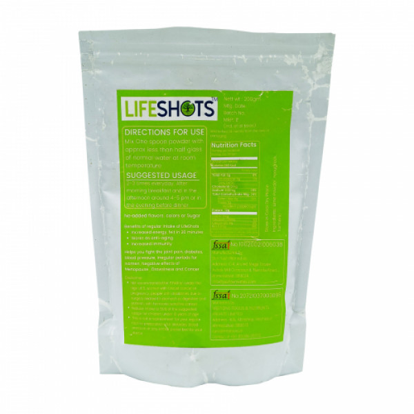 Life Shots Daily Essentials For Healthy Body, 200gm