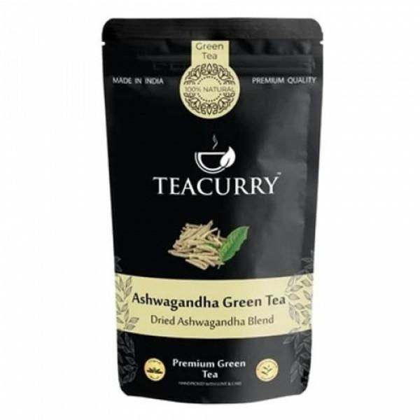 Teacurry Ashwagandha Green Tea, 200gm