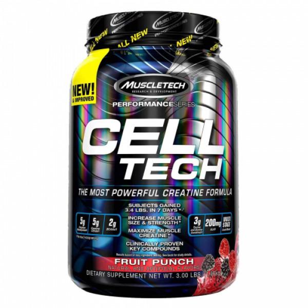 Muscletech Cell Tech Fruit Punch, 1.36kg