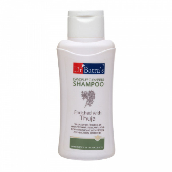 Dr Batra's Hair Fall Control Serum, 125ml & Dandruff Cleansing Shampoo, 500ml With Hair Oil, 100ml