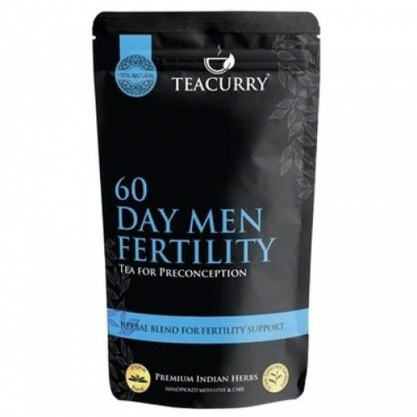 Teacurry Fertili Support Tea for Men, 100 Tea Bags