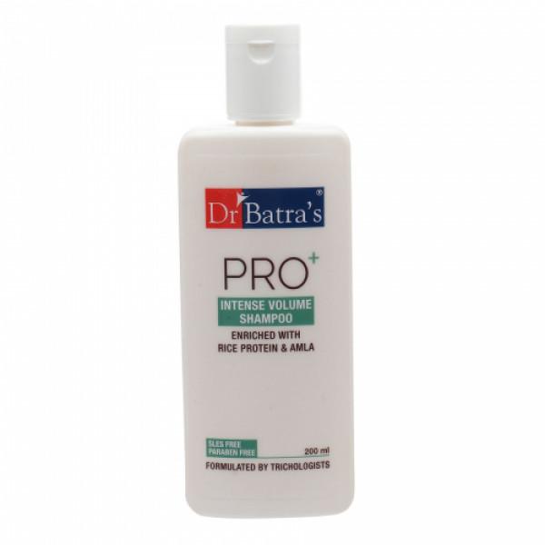 Dr Batra's Hair Vitalizing Serum, 125ml & Pro+ Intense Volume Shampoo, 200ml with Hair Oil, 200ml Combo Pack