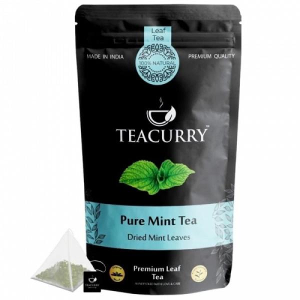 Teacurry Mint Leaves Tea, 30 Tea Bags