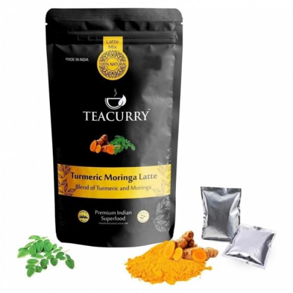 Teacurry Turmeric Moringa Latte, 30 Sachets