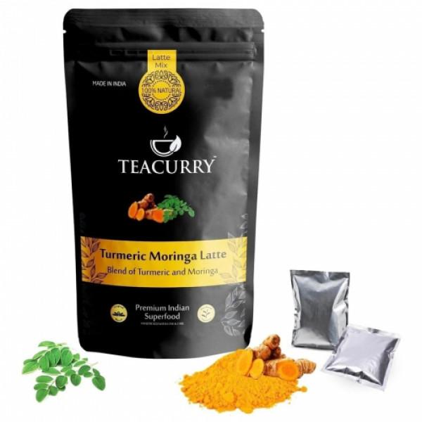 Teacurry Turmeric Moringa Latte, 100gm