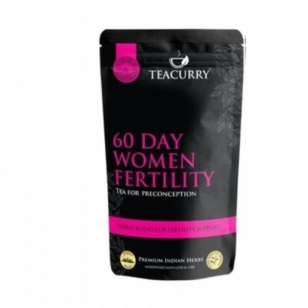 Teacurry Thyro Herbal Tea + Women Fertility, 100gm (Pack Of 2)
