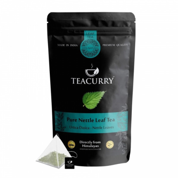 Teacurry Nettle Himalayan Leaf Tea, 30 Tea Bags
