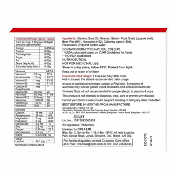 Maxirich Multivitamin & Minerals, 10 Softgels