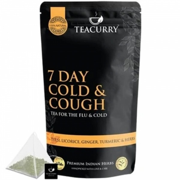 Teacurry Cough and Cold Tea, 100gm