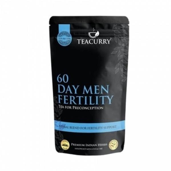 Teacurry Men Women Fertili Support Tea, 60 Tea Bags (Pack Of 2)