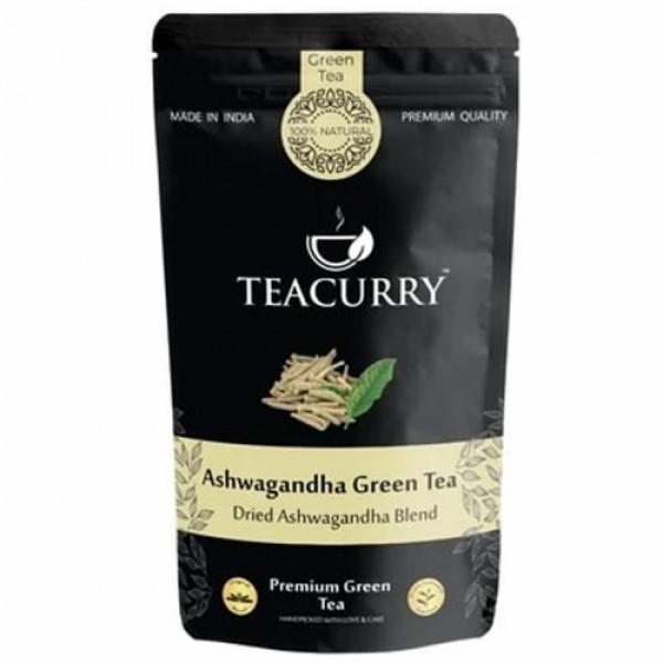 Teacurry Ashwagandha Green Tea, 30 Tea Bags