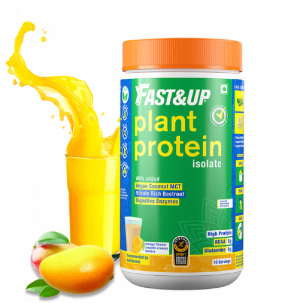 Fast&Up Plant Protein and Superfood Mango for Women 450gm
