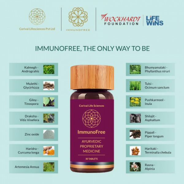 Biogetica Immunofree, 270 Tablets
