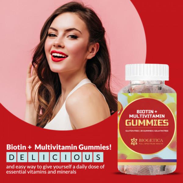 Biogetica Biotin & Multivitamin, 30 Gummy