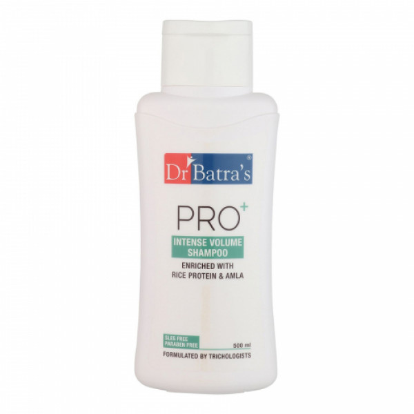 Dr Batra's Hair Fall Control Serum, 125ml & Conditioner, 100ml With Pro+ Intense Volume Shampoo, 500ml