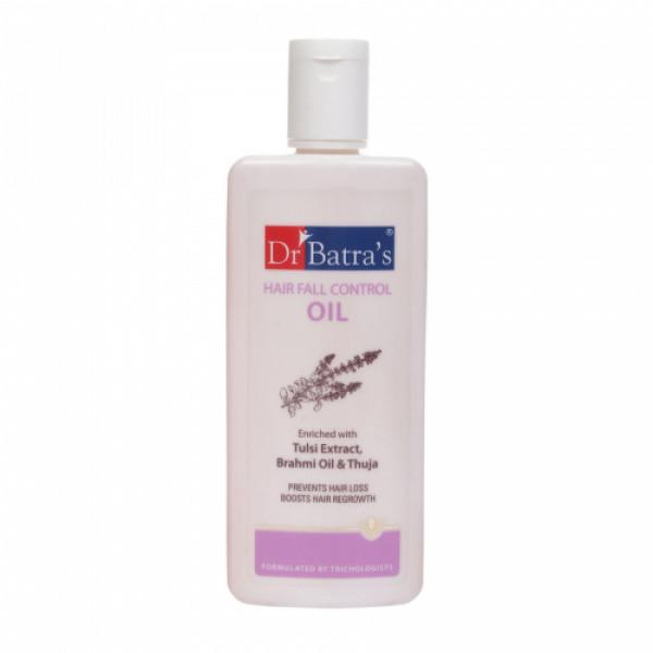 Dr Batra's Hair Fall Control Serum, 125ml & Dandruff Cleansing Shampoo, 500ml With Hair Fall Control Oil, 200ml