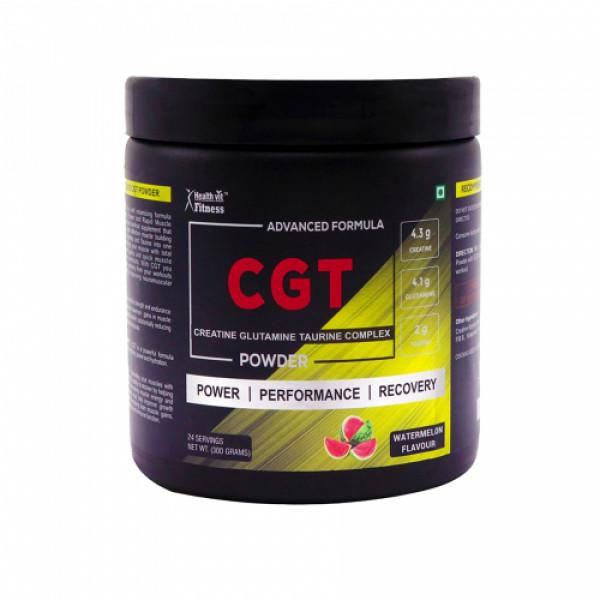 Healthvit Fitness Advanced CGT Powder, 300gm