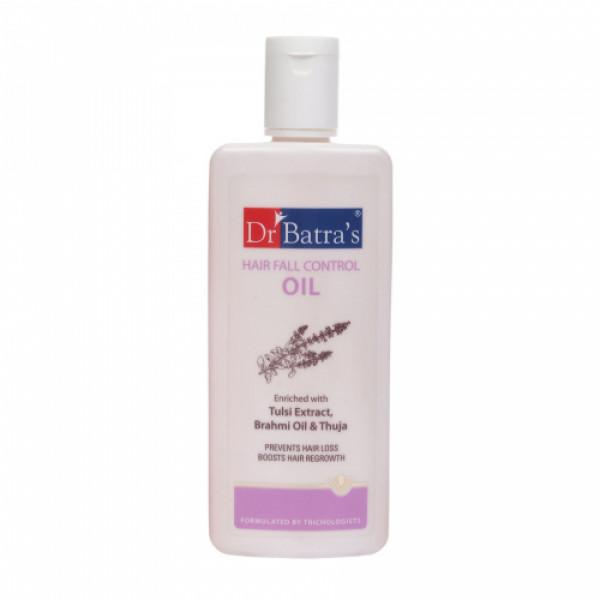 Dr Batra's Hair Fall Control Serum, 125ml & Pro+ Intense Volume Shampoo, 500ml With Hair Fall Control Oil, 200ml