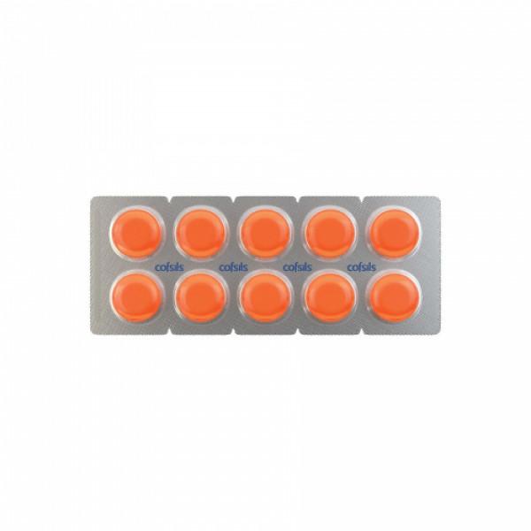 Cofsils Orange - Blister Pack, 200 Lozenges