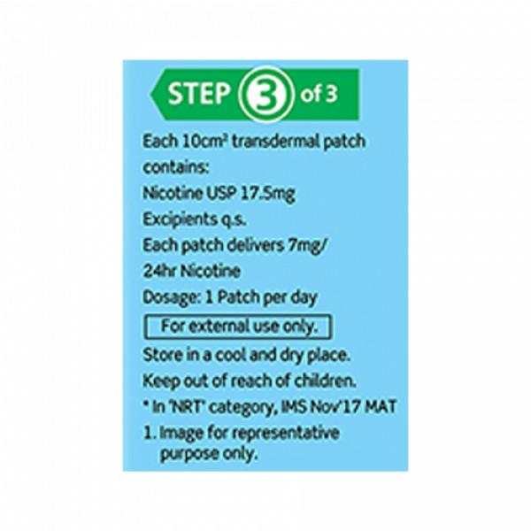 Nicotex Nicotine Patch 7mg, 7 patches