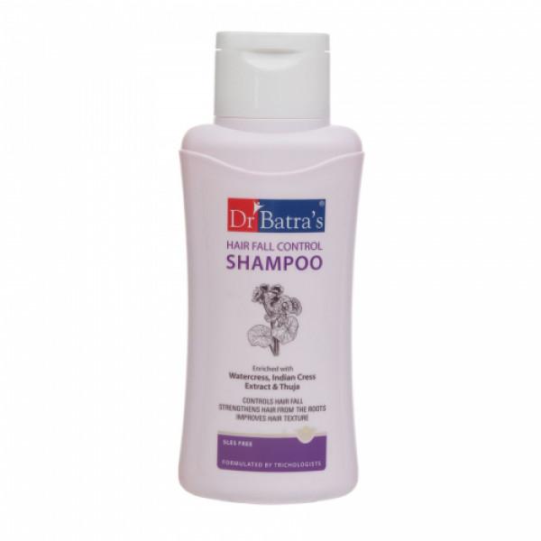 Dr Batra's Hair Fall Control Serum, 125ml & Conditioner, 200ml With Hair Fall Control Shampoo, 500ml