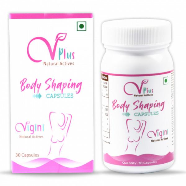 Vigini Vplus Natural Actives Body Shaping, 30 Capsules