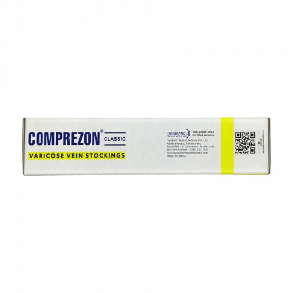 Dyna Comprezon Classic Varicose Vein Stockings - Class 2AD (Below Knee) 31-34 Cms (XXL)